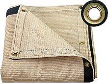 BSLBBZY Beige Tuch Tuch mit Metallösen - Großer