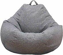 BSMEAN Große Sitzsack-Stühle, Volltonfarbe