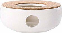 BSTCAR Stövchen Keramik, Teekanne Keramik