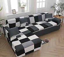 BSZHCT Sofa Überwürfe Blumendruck Sofabezug