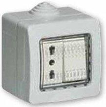 Bticino idrobox Wechselschalter 10A 250V und