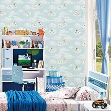 BTJC Cartoon nahtlose Wandverkleidung Wandverkleidung Kinder-Schlafzimmer Schimmel schmutzabweisend drucken Wandverkleidungen