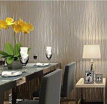 BTJC Einfache wellenförmige vertikale Streifen moderne Schlafzimmer Wohnzimmer Club werfen Vliestapete Wand Hintergrundpapier , meters white 42041