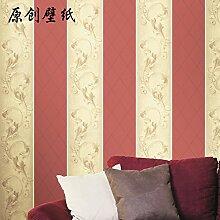 BTJC Minimalismus Joker kontinentalen pastorale kleines Wohnzimmer Wohnzimmer TV Hintergrundbild Wallpaper , Red