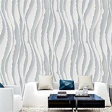 BTJC tv - hintergrund einfache abstrakte streifen aus tapete schlafzimmer, wohnzimmer, tv - umwelt - tapete sofa 10 * 0,53 (m),gray