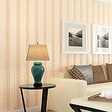 BTJC tv - hintergrund tapete nicht aus dreidimensionalen streifen wohnzimmer - tv hintergrund tapete 10 * 0,53 (m),gelb