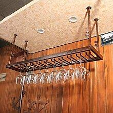BTJJ Bar Weinglas Rack Hängende Weinglas Bar