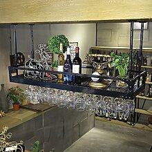 BTJJ Weinregale Retro Industrie Wind Bar