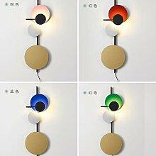 BTPDIAN Einfache Designer Schlafzimmer Wandlampe