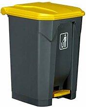 BTPDIAN Pedal Mülleimer im Freien Haushaltsfuß