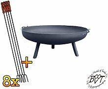 BTV Batovi Stabile Feuerschale XXXL ca. 100cm für