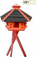 BTV Batovi Vogelhaus, Gartendeko aus Holz B40atMS