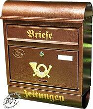 BTV Briefkasten, groß XXL, Premium-Qualität,