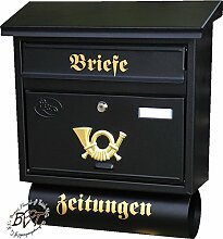BTV Design Briefkasten, Premium-Qualität,