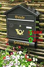 BTV Design Briefkasten S schwarz anthrazit grau