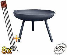 BTV Große Feuerschale XL ca. 55cm für Grill,