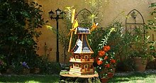 BTV Haus & Garten Windmühle in Holz