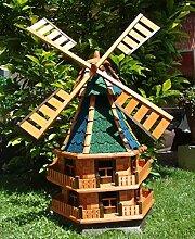 BTV MEGA Windmühle,Windmühle für Garten,