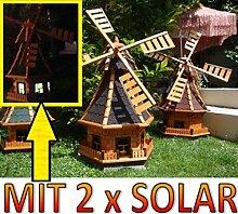 BTV NEU Windmühle,Windmühle für Garten,