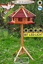 BTV-Ölbaum Vogel-Futterhaus, groß, XL mit