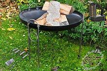 BTV Outdoor Feuerschale + Zubehör -