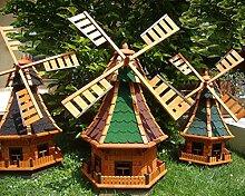 BTV Robuste Windmühle,Windmühle für Garten,
