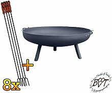 BTV Stabile Feuerschale XL ca. 55cm für Grill,