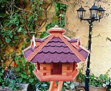 BTV Vogelhaus, mit Ständer/ohne Ständer,