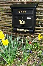 BTV Wandbriefkasten,Design Briefkasten, groß XXL,