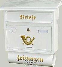 BTV Wandbriefkasten, Toller Briefkasten, groß