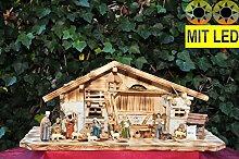 BTV Weihnachtskrippe mit historischem Holzbrunnen
