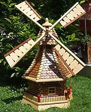 BTV Windmühle,Windmühle für Garten, mit