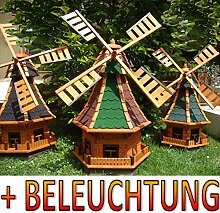 BTV Windmühle,Windmühle für Garten, windmühlen
