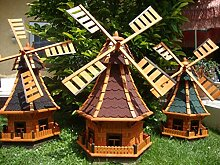 BTV XL Windmühle, windmühle für Garten,