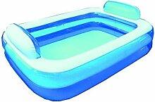 BTX Pool rechteckig mit Kissen Kopfstütze A 2Ringe 266x 175x 50cm