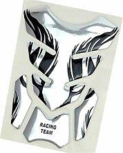 BTZHY 3pc Motorrad-Gas-Behälter-Auflage-Aufkleber