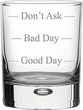 Bubble Boden Whisky Glas mit drei Stufen Design
