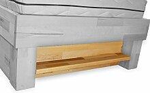 Bubema Bettregal, Kernbuche Massiv passend zum Bett Bubema Juliane - Farbe 200 cm