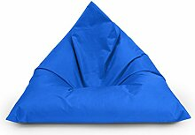 BuBiBag Sitzsack Dreieck Beanbag Sitzkissen für