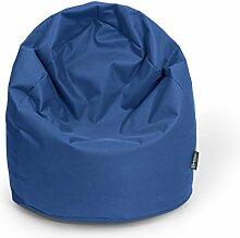 BuBiBag Sitzsack XL mit Füllung Tropfenform