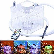BuBu-Fu Shisha Set Micro Modern Acryl Würfel