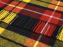 Buchanan Kniedecke, Schottenkaro, Wolle, Highland