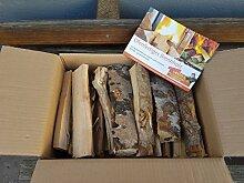Buche-Brennholz 15 kg im Karton (25 cm lang)