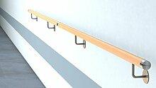 Buche Holz Handlauf V2A Fertighandlauf Geländer