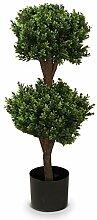 Buchsbaum Kunstpflanze PHILIPP Kunstbaum, Buxbaum,