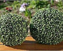 Buchsbaumkugel D33cm Material: Kunststoff
