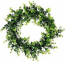 Buchskranz Kunstpflanze Kranz Türkranz Eukalyptus