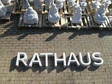 Buchstabe aus echtem Granit 40 cm hoch - Für Ihre