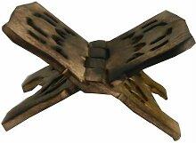 Buchständer Buchhalter Buchstütze klappbar Holz