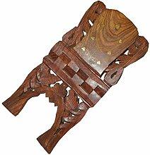 Buchständer Holz Buchstütze Größe L